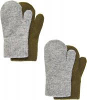 CeLaVi Kinder Handschuh Magic Mittens (2er Pack) Military Olive
