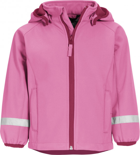 Playshoes Kinder Softshell-Jacke pink