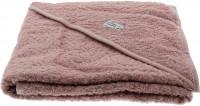 Pippi Baybwear Kinder Badetuch Organic Hooded Towel 83x83 cm Pale Mauve Purple