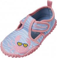 Playshoes Kinder Aqua-Schuh Krebs Blau/Pink