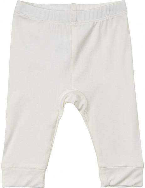 Minymo Kinder Leggings Leggings Bamboo White