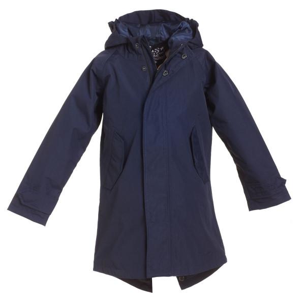 BMS Kinder Jacke / Mantel HafenCity Softshell Kids Coat Marine