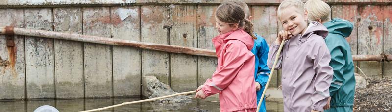 Skandinavische Regenkleidung Color Kids Kinder