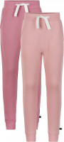 Minymo Mädchen Jogginghose Basic 37 Sweat Pant (2-Pack) Mesa Rose