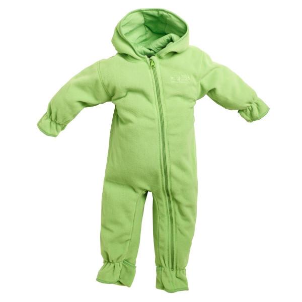 BMS Kinder / Kleinkinder Antarctic Clima-Fleece Baby Overall Limette