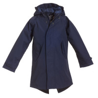 BMS Kinder Regenjacke HafenCity Coat Kids Softlan Marine