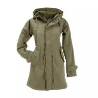 BMS Hafencity Coat Softshell Pro Khaki