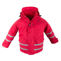 BMS Kinder Jacke Skipperjacke Kids Taslan/Sorona Rot
