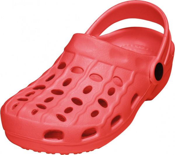 Playshoes Kinder EVA-Clog Basic rot