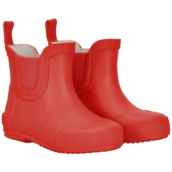 Celavi Kinder Gummistiefel kurz Basic Wellies Short Solid Baked Apple Red