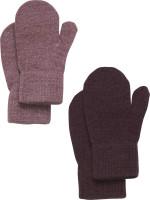 CeLaVi Kinder Handschuh Magic Glitter Mittens (2er Pack) Rose Brown