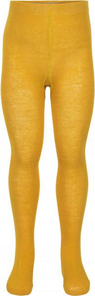 Minymo Kinder Strümpfe Stocking Solid Mineral Yellow