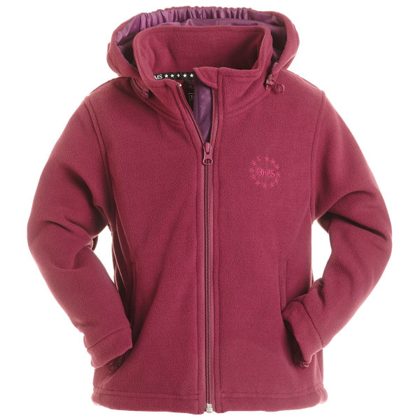 BMS Kinder Windsmoother Kids Kapuzen-Jacke Purple