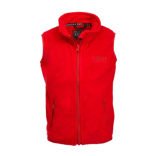 BMS Kinder Jacke Antarctic Clima-Fleece Weste Rot