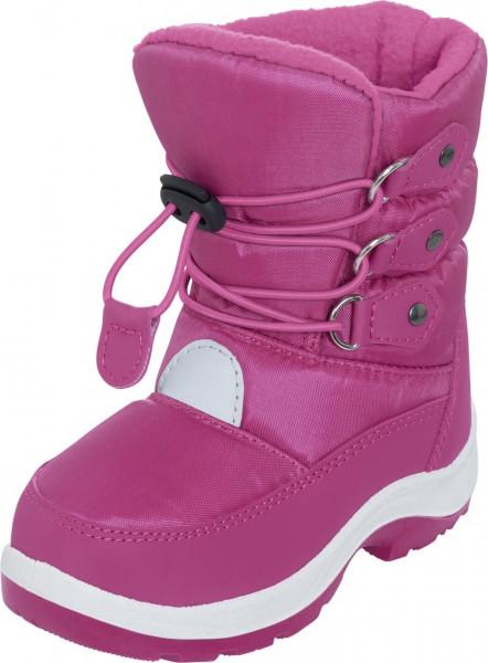 Playshoes Kinder Winterschuh Winter-Bootie zum Schnüren Pink