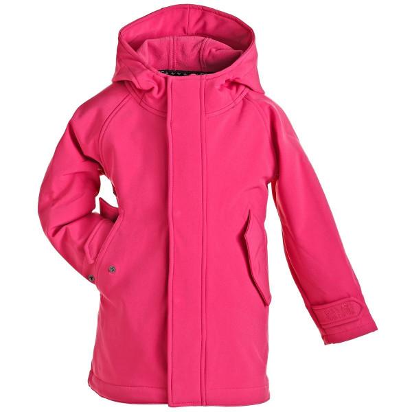BMS Kinder Jacke / Mantel HafenCity Softshell Kids Coat Pink