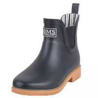 BMS Chelsea Boots Schwarz