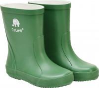 CeLaVi Kinder Gummistiefel Basic Wellies Solid Elm Green