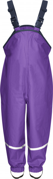 Playshoes Kinder Regenlatzhose Textilfutter lila