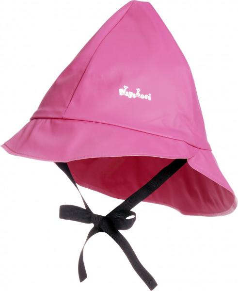 Playshoes Kinder Regenmütze, Baumwollfutter pink