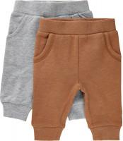 Minymo Kinder Sweat Pants (2er Pack) Chipmunk