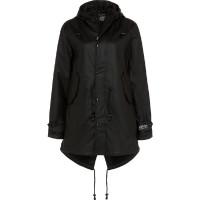 BMS Hafencity Coat -Softskin Schwarz