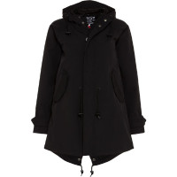 BMS Hc Coat Softlan/Lining Schwarz