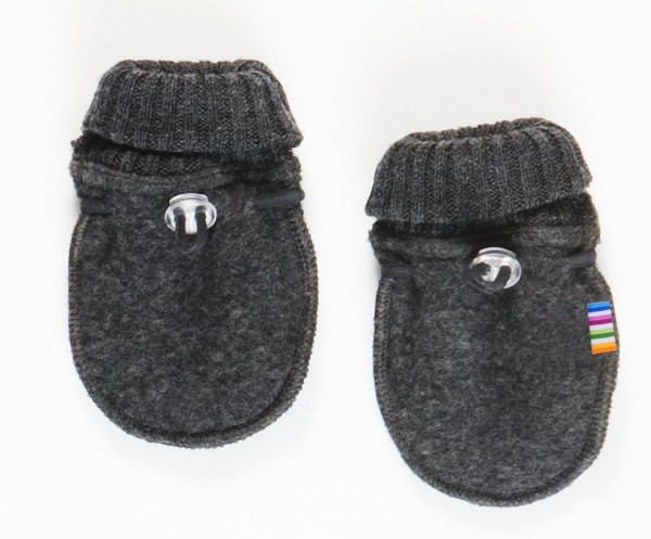 Joha Kinder Baby Handschuhe aus 100% Wolle Coke Melange