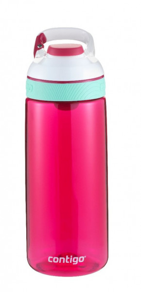 Contigo Trinkflasche Courtney Autoseal Sangria White Pink mit 590ML Fassungsvermögen