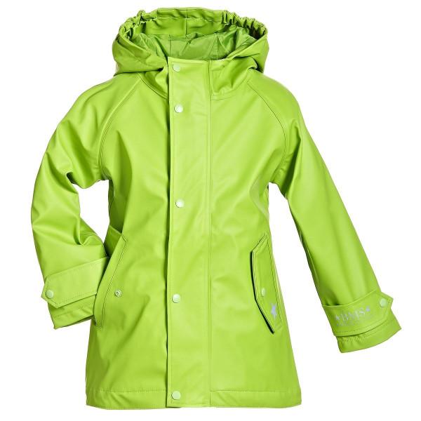 BMS Kinder Regenjacke HafenCity Coat Kids Pu/Lining Limette