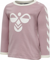 Hummel Kinder Longsleeve Flipper T-Shirt Woodrose