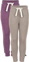 Minymo Mädchen Jogginghose Basic 37 Sweat Pant (2-Pack) Purple