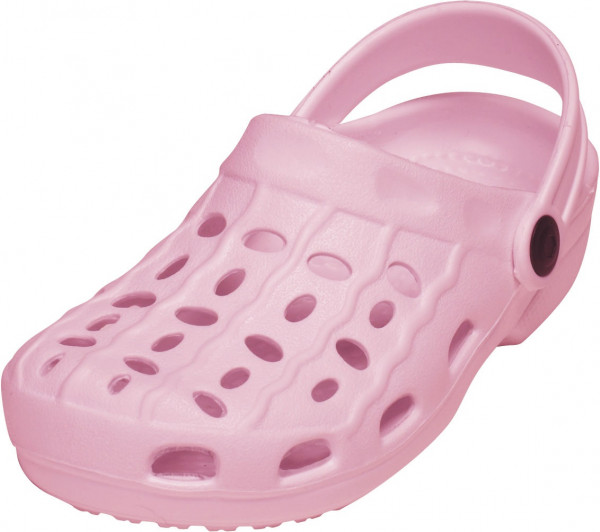 Playshoes Kinder EVA-Clog Basic rosa