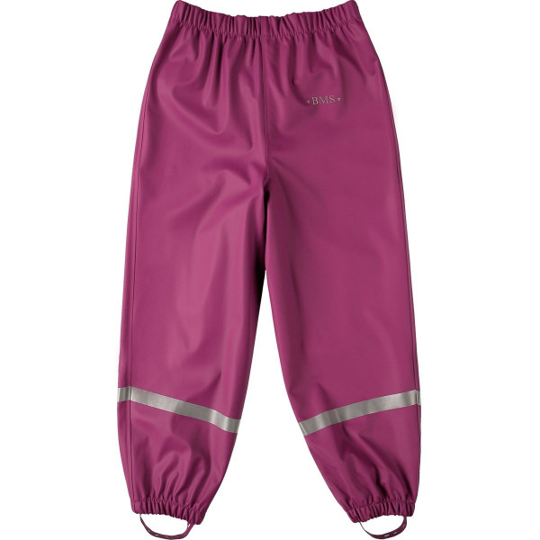 BMS Kinder Regenhose Softskin Buddelbundhose OekoTex Purple