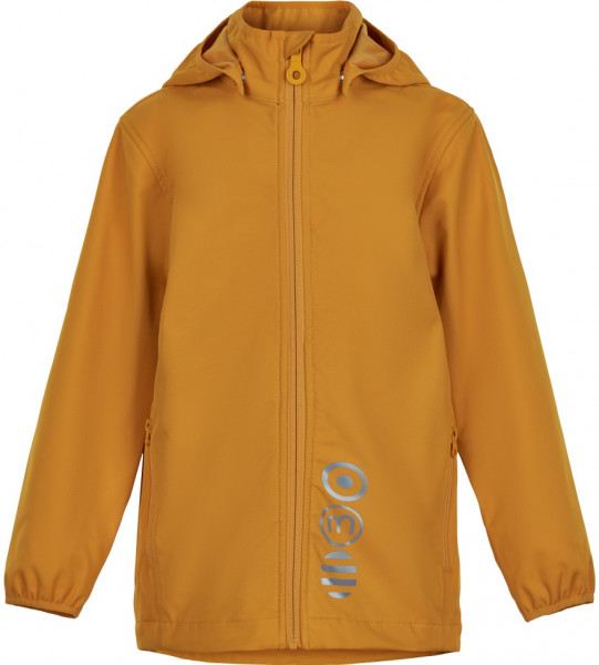 Minymo Kinder Jacke Softshell Jacket Solid Golden Orange