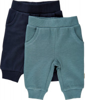 Minymo Kinder Sweat Pants (2er Pack) Goblin Blue
