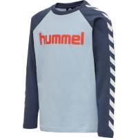Hummel Kinder Longsleeve Boys T-Shirt L/S Blue Fog