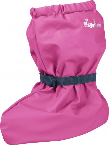 Playshoes Kinder Regenfüßlinge mit Fleece-Futter pink