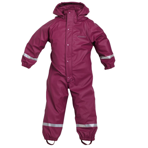 BMS Kinder Outdoor Overall Softskin Buddelanzug Räuberwald Purple