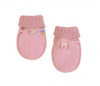Joha Kinder Baby Handschuhe aus 100% Wolle Old Rose