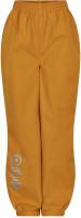 Minymo Kinder Hose Softshell Pants Solid Golden Orange