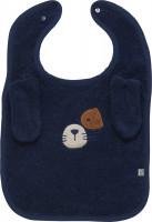 Pippi Babywear Kinder Lätzchen Organic Terry Bib Dress Blues