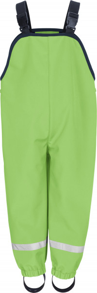 Playshoes Kinder Softshell-Latzhose grün
