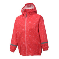 Color Kids Premium Regenjacke Coral Red