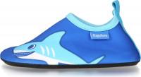 Playshoes Kinder Barfuß-Schuh Hai Blau