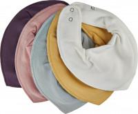 Pippi Babywear Kinder Lätzchen Bandana Bib Solid (5er Pack) Misty Rose