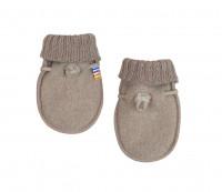 Joha Kids Baby Gloves made of 100% Cotton Sesame Melange