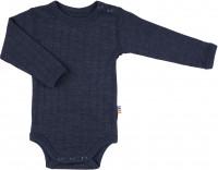 Joha Kinder Unterwäsche Body mit langen Ärmeln Navy