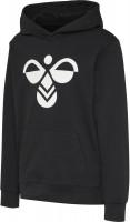 Hummel Kinder Sweatshirt Cuatro Hoodie Black