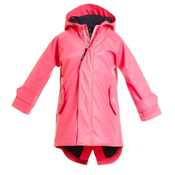 BMS Kinder Regenjacke HafenCity Coat Kids Pu/Lining Pink